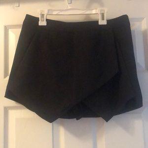 Brand New Miss-guided Black Envelope Skirt